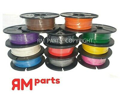 AU29.95 • Buy 4mm Single Core Wire 30m Roll Automotive All Colours 6-28VDC 1.84mm2 15Amps Max