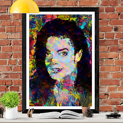 Michael Jackson Poster Wall Art Picture Print • 10.99£