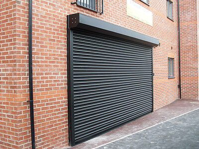 £424.22 • Buy ELECTRIC SHOP FRONT NEW STEEL SECURITY ROLLER SHUTTERS - All Sizes Available!