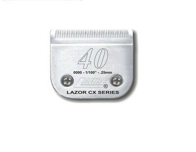 Laube CX Steel Dog Grooming Clipper Blade #40 Fits Standard Andis,Oster,Wahl • 27.99$