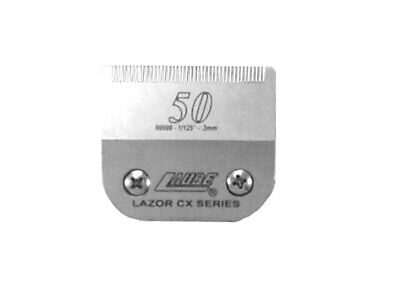 Laube CX Steel Dog Grooming Clipper Blade #50 Fits Standard Andis,Oster,Wahl • 28.99$
