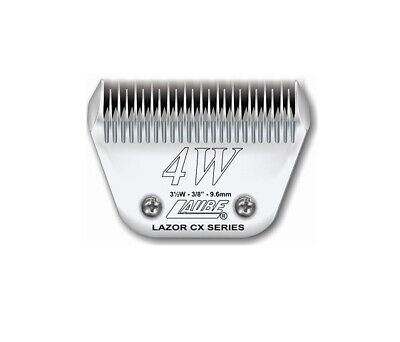 Laube CX Steel Dog Grooming Clipper Blade #4W Fits Standard Andis,Oster,Wahl • 68.99$