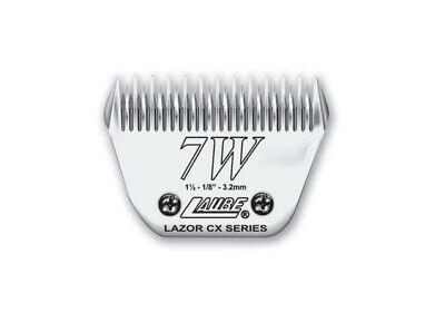Laube CX Steel Dog Grooming Clipper Blade #7W Fits Standard Andis,Oster,Wahl • 59.99$