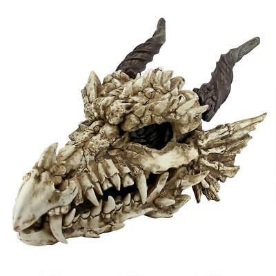 £185.34 • Buy Large: Myths And Legends Medieval Dragon Skull Fanged Garden Or Table Top Trophy