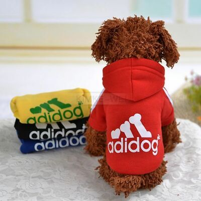 £3.03 • Buy Pet Dog Cat Puppy Sweater Hoodie Coat Clothes Warm Costume Apparel New (XS-9XL)