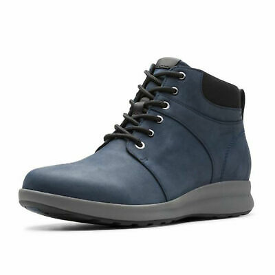 Ladies Clarks Nubuck Lace Up Casual Waterproof Unstructured Boots Un Adorn Walk • 88.99£