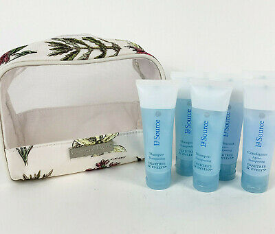 8Piece Crabtree & Evelyn La Source Shampoo Conditioner Gift Set Bag Travel 50ml • 5.99£