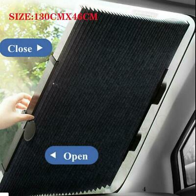 $13.79 • Buy 1PC Car Retractable Curtain UV Protection Front Windshield Sun Visor Accessories