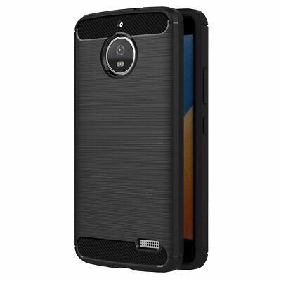 AU19.71 • Buy Case For Motorola Moto E4 (5 Inch) Soft Silicon Luxury Brushed With Texture