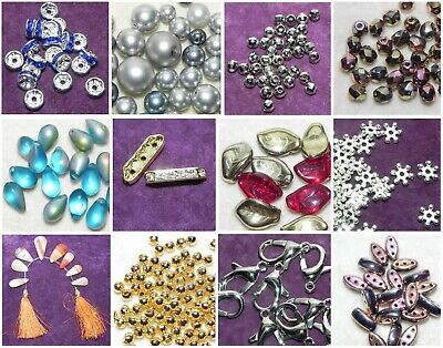 £1.25 • Buy £1.25  Crafting Beads - Jewellery Making - Various Shapes-  Sizes - Colours