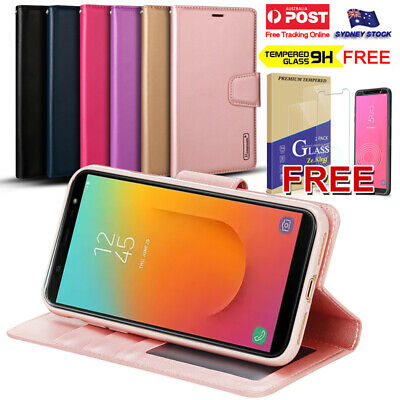 AU10.99 • Buy For Samsung Galaxy J8 J7 J5 J2 Pro A8 A7 A6 Leather Wallet Flip Phone Case Cover