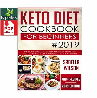 $0.99 • Buy KETO DIET COOKBOOK For BEGINNERS #2019: 700+ Simple, D IG I TAL *E- B O O K*