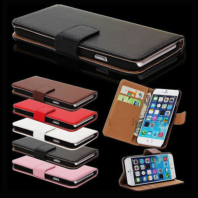 Case Compatible For IPhone 11 8 7 6 5 Plus Pro MAX XR Leather Flip Wallet Cover • 2.89£