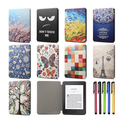 AU9.92 • Buy For 6  Kindle Paperwhite 1 2 3 4 10th Gen Pattern Smart Leather Flip Case Cover