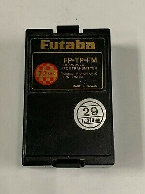 $29.95 • Buy Futaba FP-TP-FM 72mhz RC Remote Control Airplane Transmitter Module Channel 29