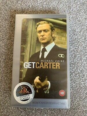 Get Carter (1971): Special Collector's Edition - Crime/Action - M.Caine - VHS • 1.79£