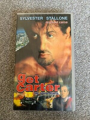 VHS Get Carter With Silvester Stallone And Michael Caine • 5.99£