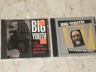 BIG YOUTH Lot Of 2 CDs The Chanting Dread Inna Fine Style / Some Great Big Youth • 18.09£