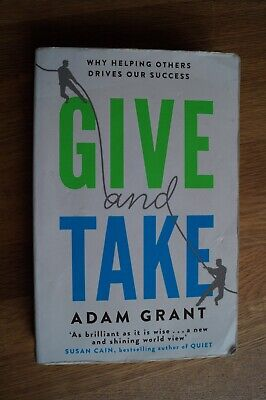 AU8.11 • Buy Adam Grant - Give And Take: Why Helping Others Drives Our Success