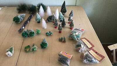 $ CDN58.91 • Buy Vintage Lot 43 Christmas Trees For Decoration Villages Free Ship