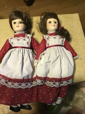 $ CDN14.07 • Buy Porcelain Dolls- Lot Of 2 From The 1980s