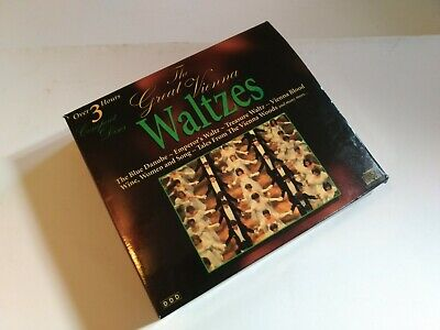 Various Artists : The Great Vienna Waltzes CD • 4.28£
