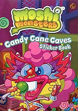 Moshi Monsters: Candy Cane Caves Sticker Activity Book Mind Candy • 3.33£