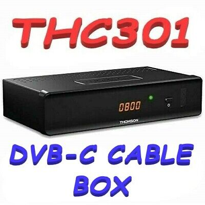 £19.97 • Buy Thomson THC301 HD - Villa Holiday - Cable Receiver DVB-C  Channels Time Shift