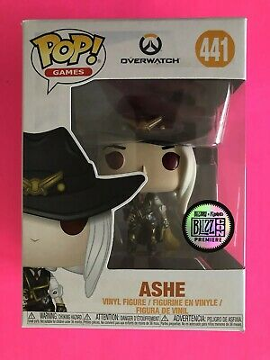 AU86 • Buy Overwatch Ashe Pop Vinyl Funko Blizz Blizzard Blizzcon Sticker Exclusive