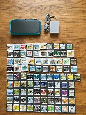 AU386.74 • Buy READ LISTING Nintendo 2DS XL System Console Black & Turquoise Blue CHOOSE 1 GAME