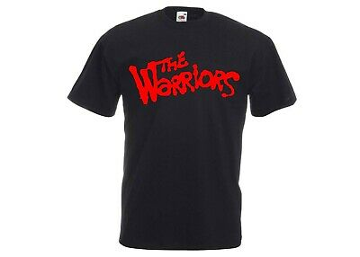 The Warriors 70s/80s Movie/Video Game - Gang Crime Action Slogan Logo T-Shirt • 11.99£