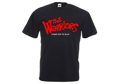 The Warriors Come Out To Play 70s/80s Movie/Video Game Gang Crime Action T-Shirt • 11.99£
