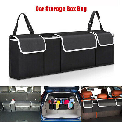 $11.08 • Buy Car Trunk Organizer Car Interior Accessories Back Seat Storage Box Bag Oxford Hh