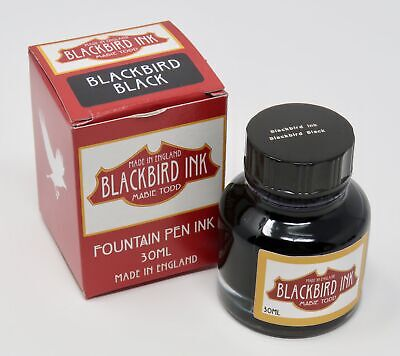 Blackbird Black Fountain Pen Ink From Mabie Todd • 9.99£