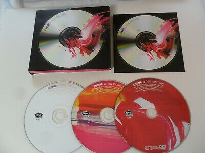 Suede - A New Morning (2CD + DVD 2011) • 15£