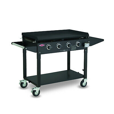 AU999 • Buy New BeefEater Clubman 4 Burner Gas BBQ, Quartz Start, Folding Legs With Wheels