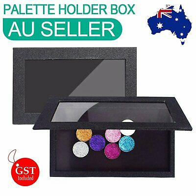 AU15.83 • Buy Empty Magnetic Cosmetic Palette Holder Box For Eyeshadow Blush Powder Makeup DIY