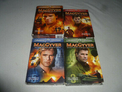 $39.99 • Buy Macgyver Boxed Dvd Lot Tv Series Complete Season 1 3 4 5 Paramount Television >>