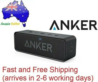 AU75 • Buy Genuine Anker SoundCore Portable Bluetooth Speaker A3102011 - Black AU STOCK
