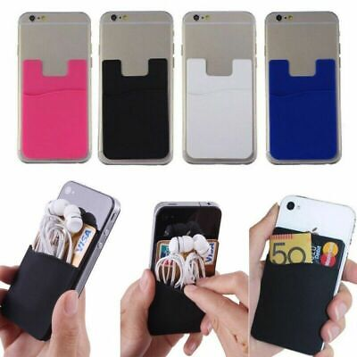 £2.80 • Buy Silicone Mobile Phone Credit Card Pocket For LG Optimus 3D MAX