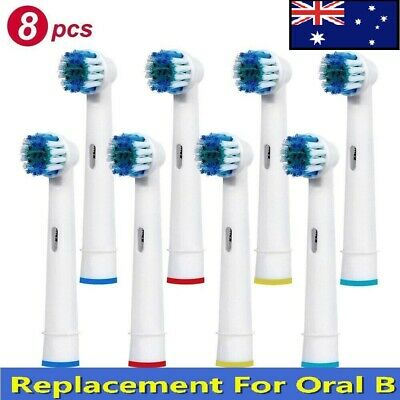 AU11.99 • Buy Replacement Soft Bristles Electric Toothbrush Head Compatible For Oral B Braun