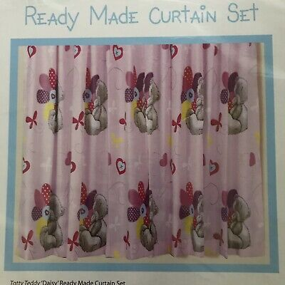 Tatty Teddy Me To You Curtains Daisy Ready Made Pencil Pleat 168x137. • 5.50£