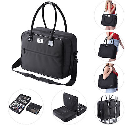 $55.90 • Buy Byootique Makeup Train Case Soft Sided 2 Layer Cosmetic Organizer Tote Carry On