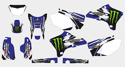 $69 • Buy 0381 Yamaha Wr 250 F Wr 450 F 2003-2006 Decal Sticker Graphic Kit