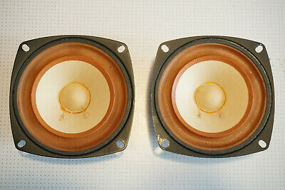AU60 • Buy Pair Of 4.5  8 Ohm 10W Foster 100K03 Mid Range Speaker Drivers SINGAPORE