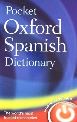 £3.12 • Buy Pocket Oxford Spanish Dictionary By Oxford Dictionaries