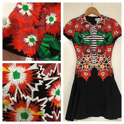 AU79 • Buy Alice Mccall Embroidered Fit And Flare Dress Size 4 ( 6) WORN ONCE