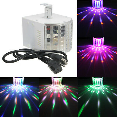 DJ Lights Sound Music Activated 18W RGB LED Strobe Effect Stage Light DMX512 • 19.94$