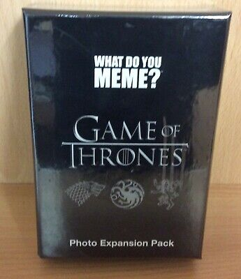 AU30.62 • Buy What Do You Meme: Expansion Pack: Game Of Thrones
