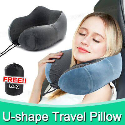AU14.88 • Buy U-shaped Travel Pillow Memory Foam Rebound Sleeping Pad Neck Support Headrest